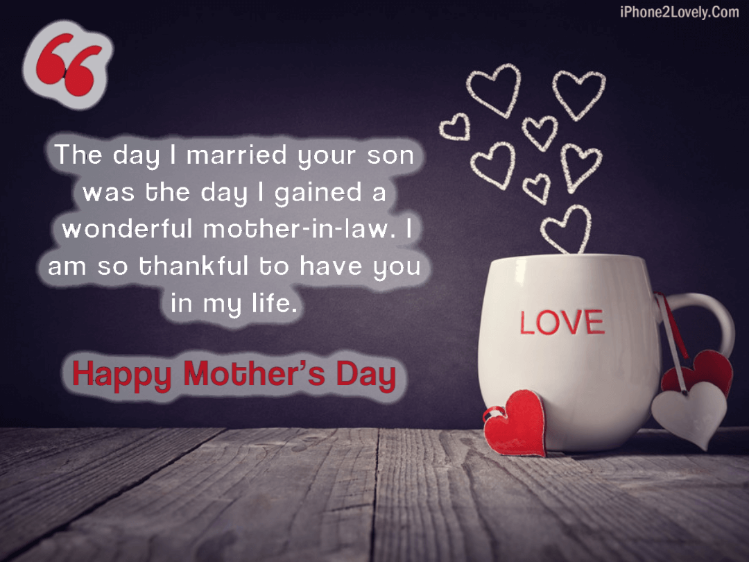 Happy Mother's Day Quotes from Daughter in Law 2019