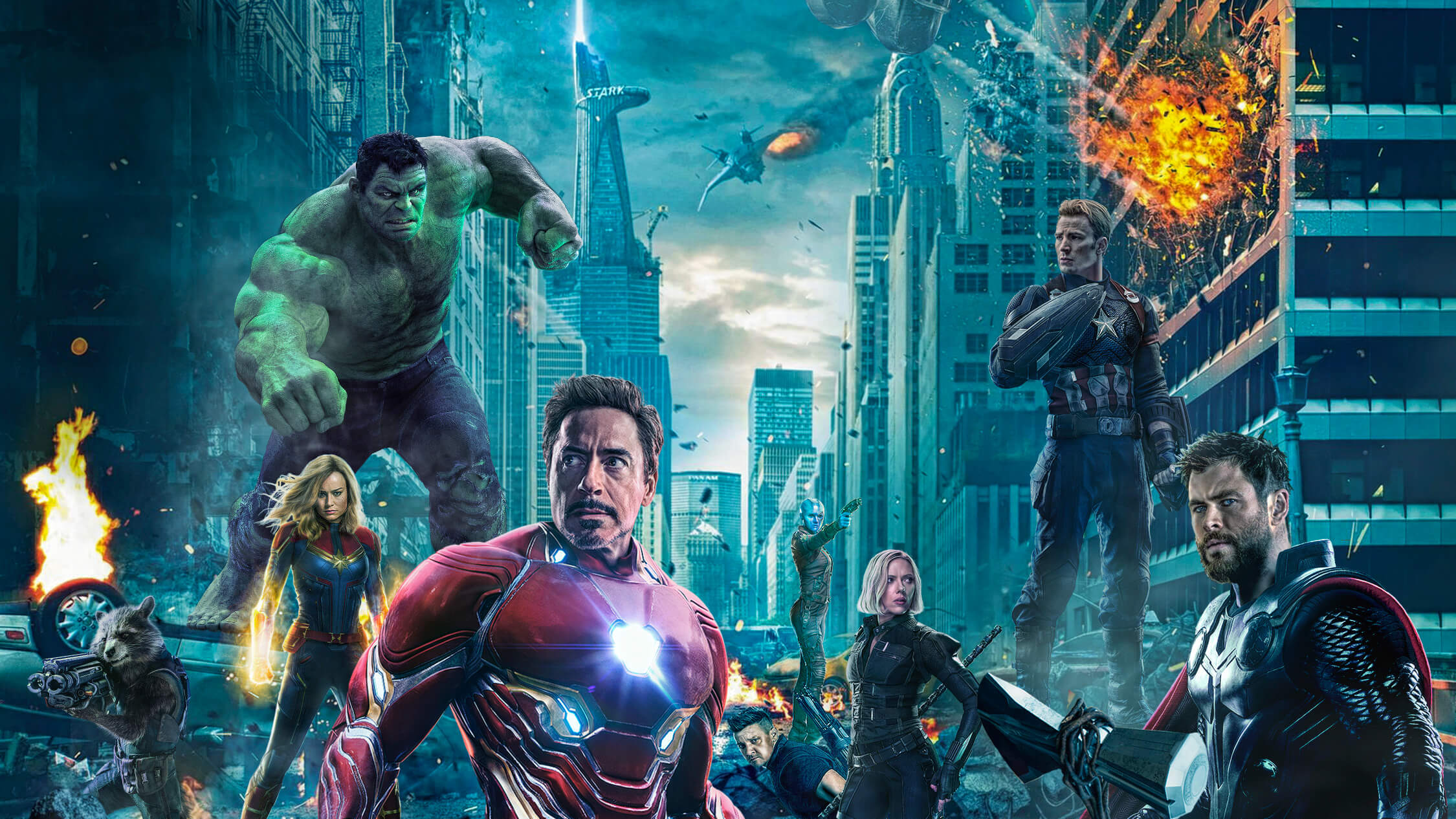 Endgame Avengers 2019 Wallpapers And Background Images